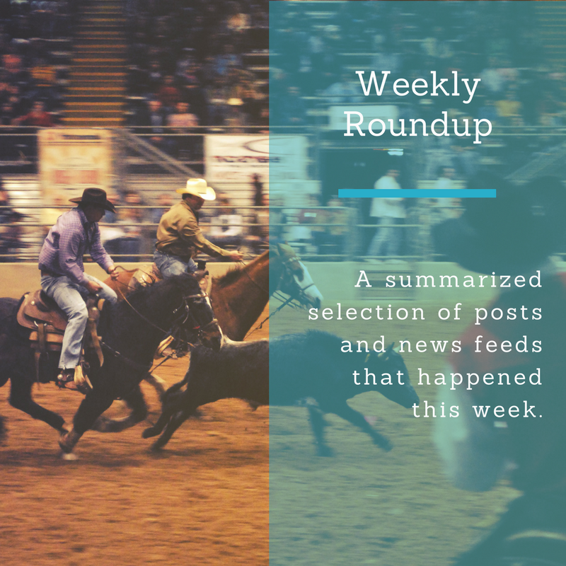 Weekly NewsRound Up