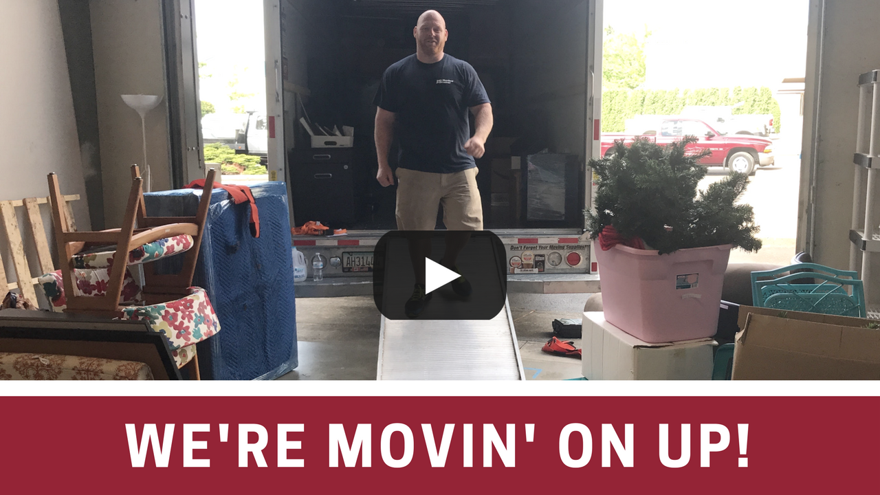 We're Moving On Up! [VIDEO]